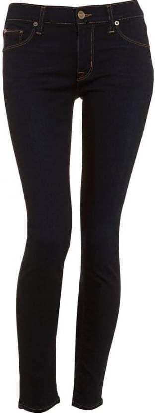 Hudson Krista Womens Jeans Super Skinny Delilah Mid Rise Denim