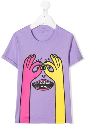 Stella Mccartney Kids Peekaboo print T-shirt