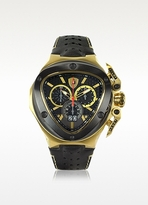 Lamborghini Tonino Black and Gold Spyder Stainless Steel Men's Watch