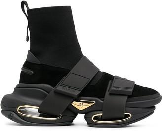 Balmain B-Bold ankle boots