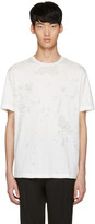 John Lawrence Sullivan Johnlawrencesullivan White Destroyed T-shirt