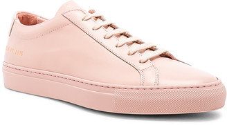 Common Projects Original Leather Achilles Low in Blush | FWRD