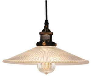 "Home Accessories Shiloh 14"" 1-Light Indoor Pendant Lamp with Light Kit"