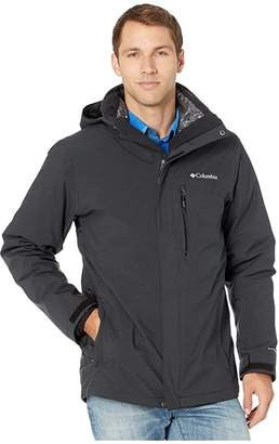 Columbia Wild Card Interchange Jacket (Black) Men's Coat
