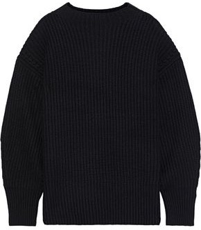 Equipment Bay Waffle-knit Wool And Cashmere-blend Sweater