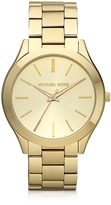 Michael Kors Runway Slim Gold Tone Watch