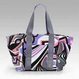 Cosmo Print Terry Beach Tote
