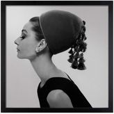 Givenchy Cecil Beaton Audrey Hepburn Hat Vogue August 15, 1964 Wall Art