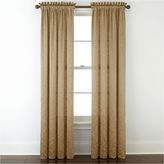 Royal Velvet Hilton Embroidery Rod-Pocket Curtain Panel