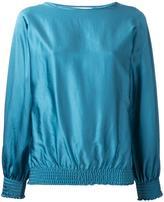 ASTRAET elasticated detailing blouse