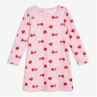 Joe Fresh Toddler Girls' Print Sleep Chemise, Pastel Pink (Size 3)