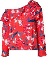 Tanya Taylor floral print blouse