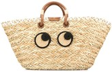 Anya Hindmarch Eyes embroidered tote bag