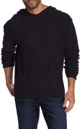 Weatherproof Vintage Hooded Knit Long Sleeve Pullover Sweater
