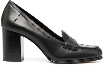 MICHAEL Michael Kors High-Heel Loafer Pumps