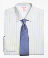 Brooks Brothers Non-Iron Regent Fit Sidewheeler Stripe Dress Shirt