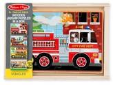 Melissa & Doug Infant Boy's Set Of Four 12-Piece Wooden Vehicle Puzzles