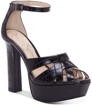 Jessica Simpson Mishka Platform Dress Sandals Women's Shoes