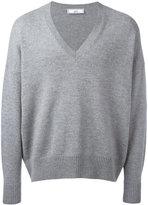 Ami Alexandre Mattiussi Oversized V Neck Sweater - men - Cashmere/Wool - XS