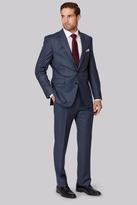 Ermenegildo Zegna Cloth Regular Fit Blue Sharkskin Suit