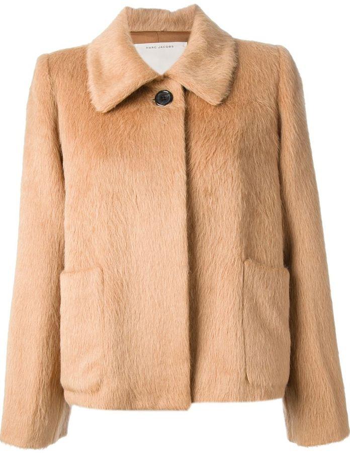 Marc Jacobs cropped fur coat