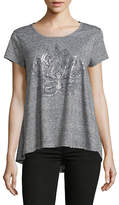Style And Co. Graphic Short-Sleeve Top
