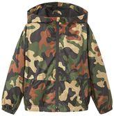 MANGO Boys Raincoat Hooded Jacket