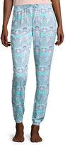Asstd National Brand Black Butterfly Printed Sleep Pants