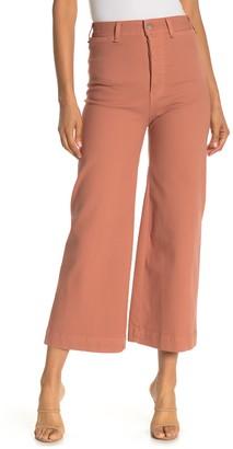 Veronica Beard Cynthia Wide Leg Gaucho Pants