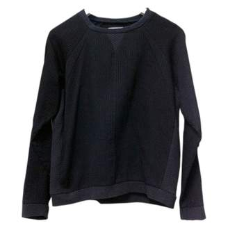 Surface to Air Black Cotton Knitwear