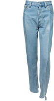 Vetements Reworked Jeans - Blue