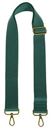 Madewell Wide Webbing Adjustable Strap (Forest) Handbags