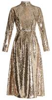 Emilia Wickstead Roma open-back sequin dress
