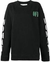 Off-White graphic print sweatshirt - women - Cotton - XS