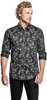 GUESS Men's Luxe Floral Shirt