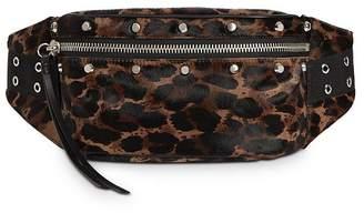 AllSaints Kim Animal-Print Belt Bag