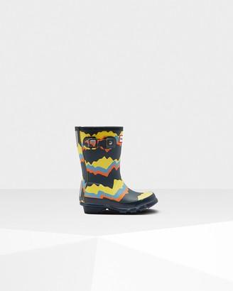 Hunter Original Little Kids Storm Stripe Rain Boots
