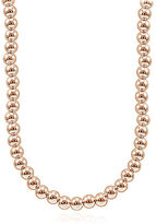 Lord & Taylor Rose Goldplated Beaded String Necklace