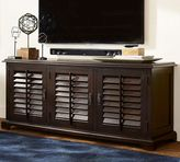 Pottery Barn Holstead Shutter Large Media Console
