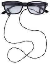 "Corinne McCormack Gunmetal Link Glasses Chain, 29"""