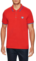 Kenzo Cotton Chest Logo Pique Polo