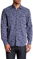 James Campbell La Vaquero Floral Plaid Regular Fit Shirt
