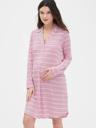 Gap Maternity Print Sleep Shirt