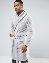 Asos Hooded Fleece Robe