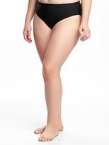 Old Navy Mid-Rise Plus-Size Bikini Bottoms
