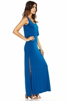 Lovers + Friends Hello Goodbye Tank Maxi Dress in Blue