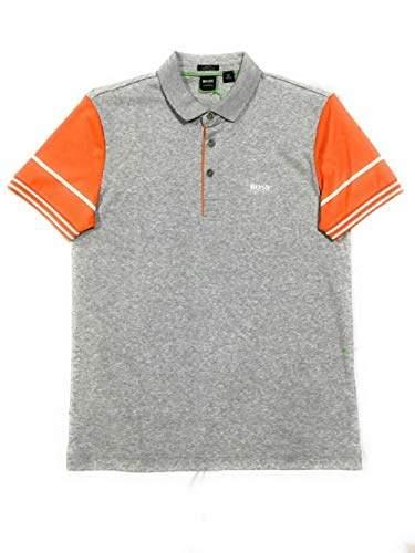 de3beb414 HUGO BOSS Gray Fitted Men s Shirts - ShopStyle