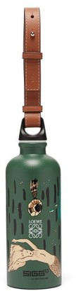 Loewe Paula's Ibiza - X Sigg Mermaid-print Metal Water Bottle - Green