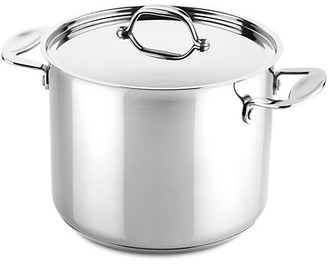 Mepra Glamour Stone Stainless Steel Deep Pot with Lid