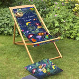 Gillian Arnold Tropical Garden And Beach Deckchair Gift For Mums